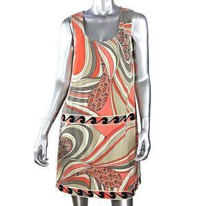 Ali Ro Mod Print Shift Dress